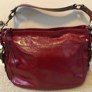 Coach Zoe Hobo patent leather bag F0873-12735